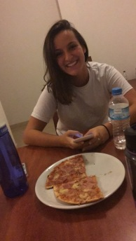 Pizza and Celina
